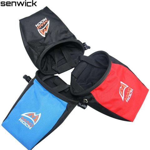 Blue Black Red Color Rock Climbing Chalk Bag Antiskid Mountaineering Powders Assorted Bag Rock prevent slippery powder bag