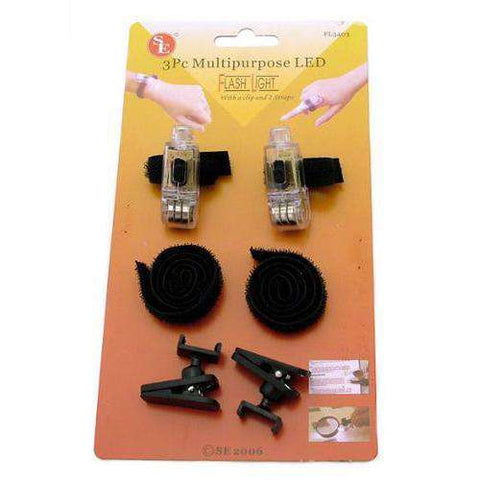 SALE 2- 3pc Super Bright LED finger light FL3403