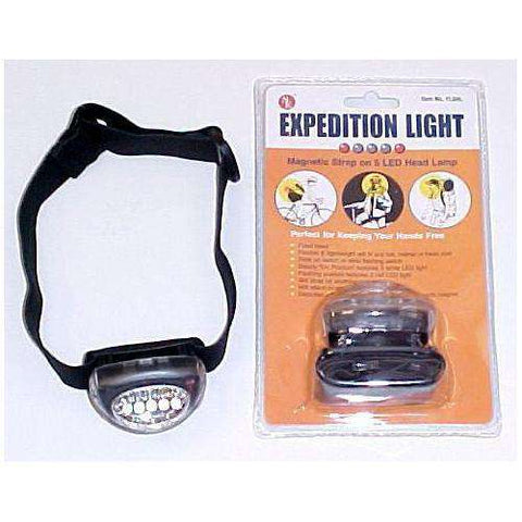 CLOSEOUT SALE Hikers Hands Free 5 Led Headlight FL5HL