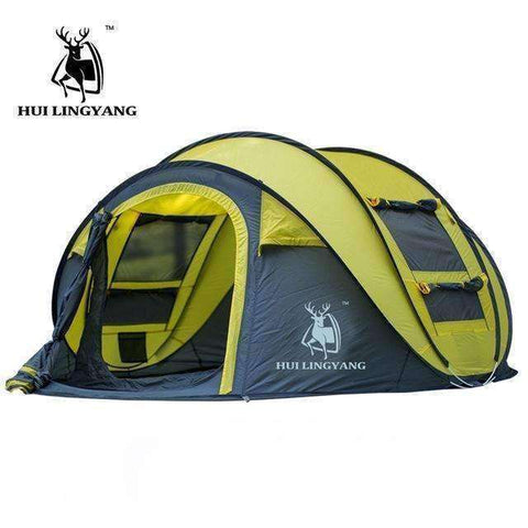 Large Throw Tent - Summer Time 3-4 Persons