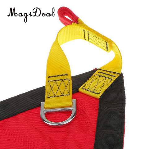 MagiDeal 1Pc Polyester Rock Climbing Rescue Belt Triangle Evacuation Harness Evacuate Patient for Chair Lift Gondola Application