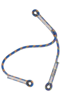 Professional 22KN 1PC Y Shape Dynamic Rope Lanyard Adjustable 75CM Blue Outdoor Rock Climbing Safety Gear Rope Climbing Accessor