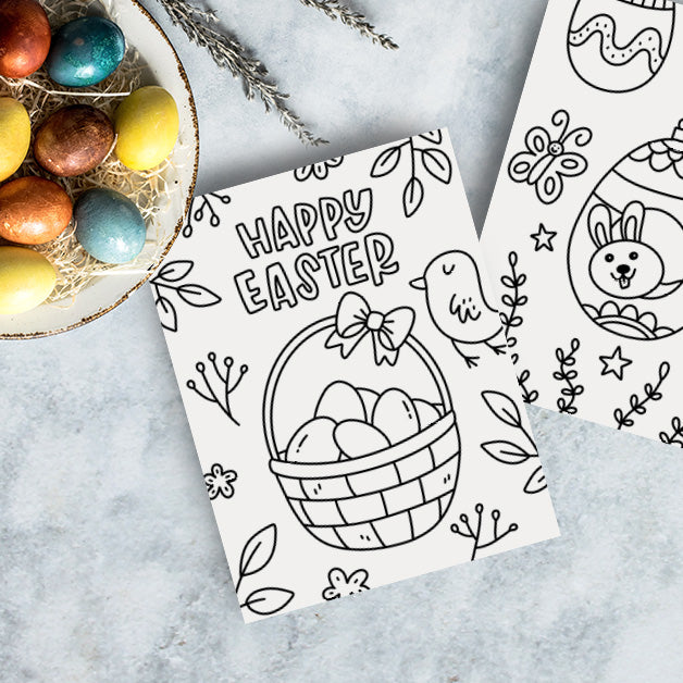 Easter Coloring Pages For Kids - Free Printable
