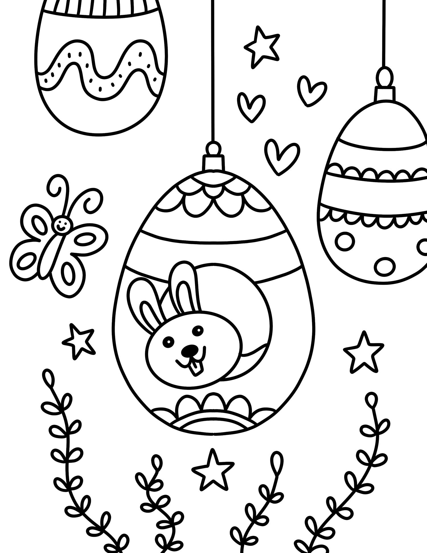 - Easter Coloring Pages For Kids - Free Printable Free Download