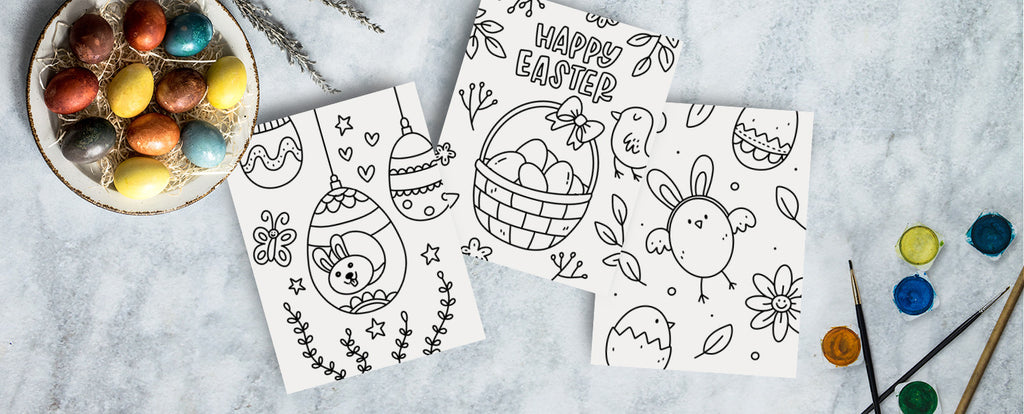 Easter Coloring Pages For Kids - Free Printable Free Download –  Occasionalish