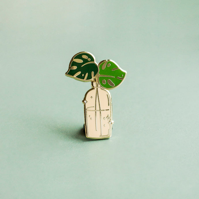Monstera Deliciosa Enamel Pin