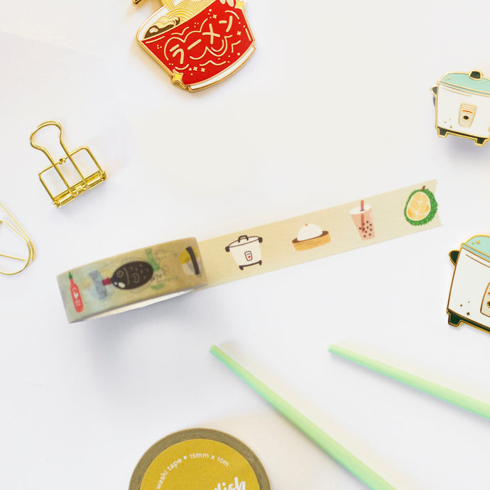 Asian Food Washi Tape