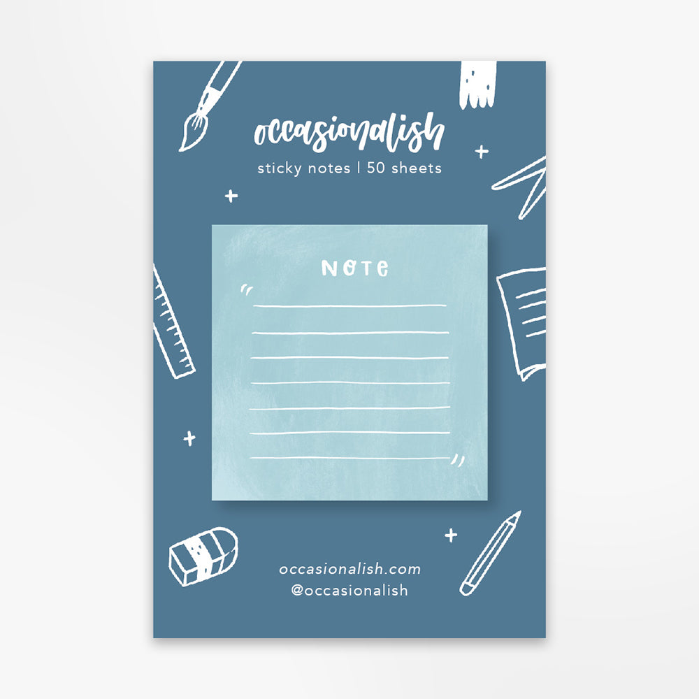 Sticky note | Simplicity: Blue