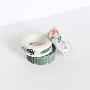 Greenery | Set of 3 Washi Tapes