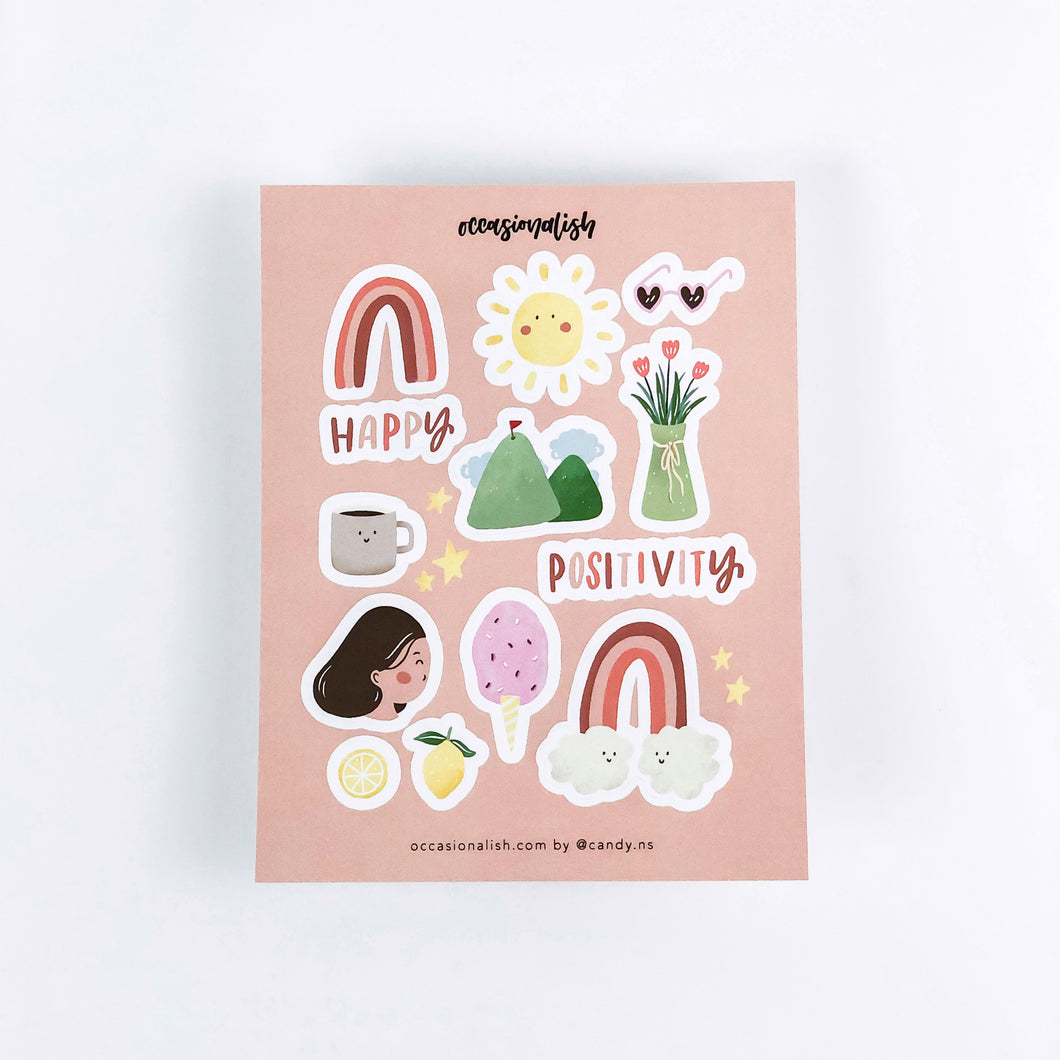 Happy Day Sticker Sheet