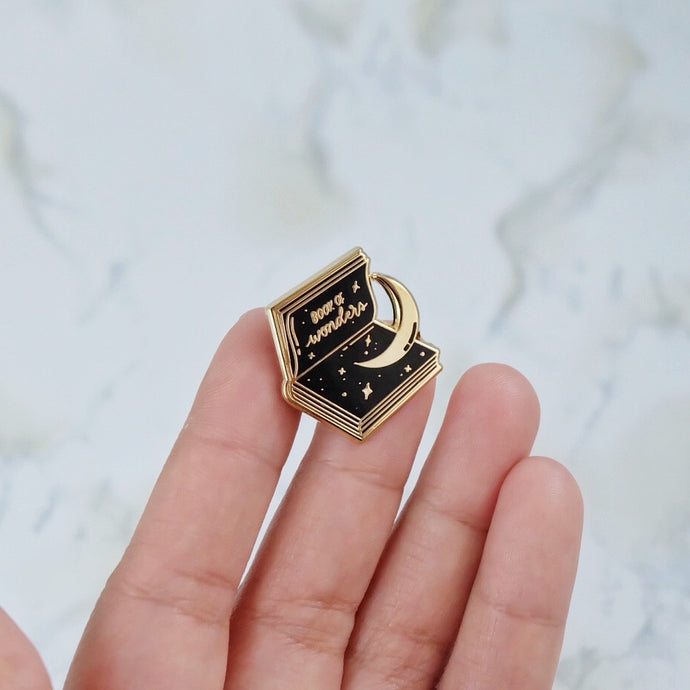 Book of Wonders Enamel Pin