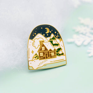 Winter Theme Enamel Pin