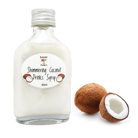 Coconut Shimmer Syrup