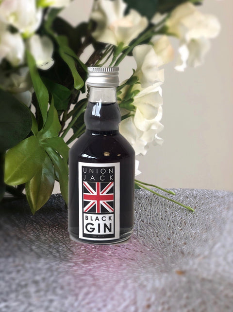 Union Jack Black Gin Miniature - 5cl Black Jack