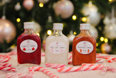 Christmas Trio Shimmer Syrup-Limited Edition