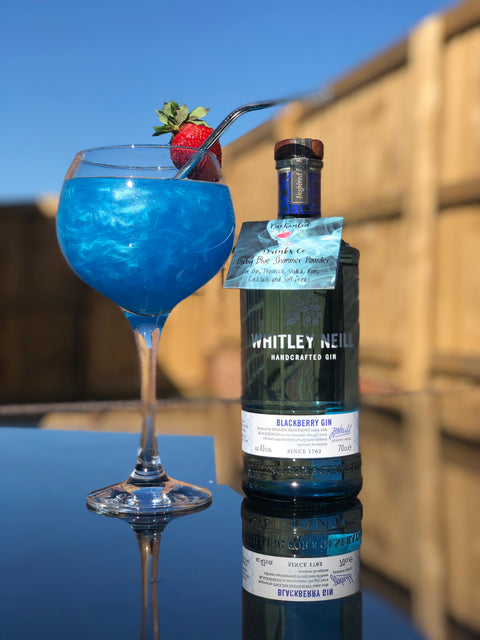 Whitley Neill Blackberry Gin and Baby Blue Shimmer Sachet