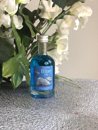 Persian Blue Marshmallow Gin Miniature - 5cl
