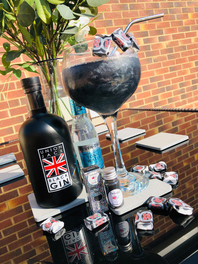 Union Jack Black Gin - 50cl