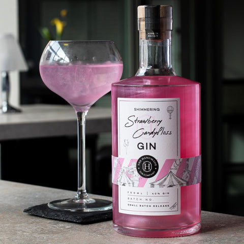 Shimmering Strawberry Candy Floss Gin - 70cl