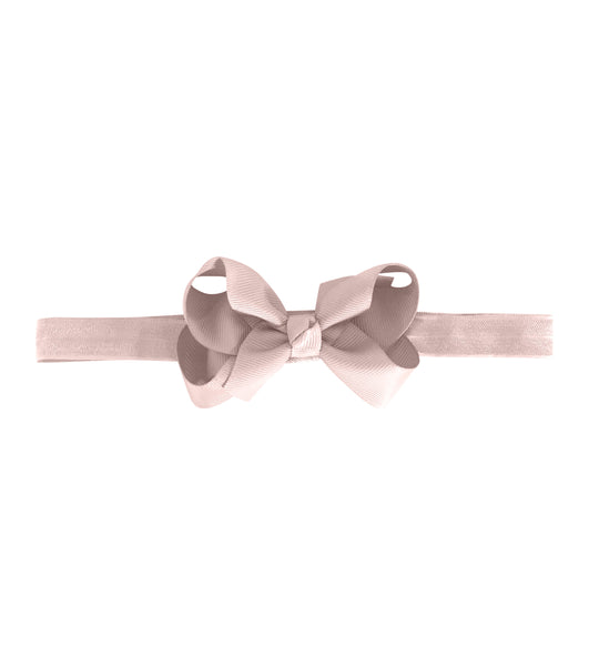 Medium Boutique Bow - Powder Pink
