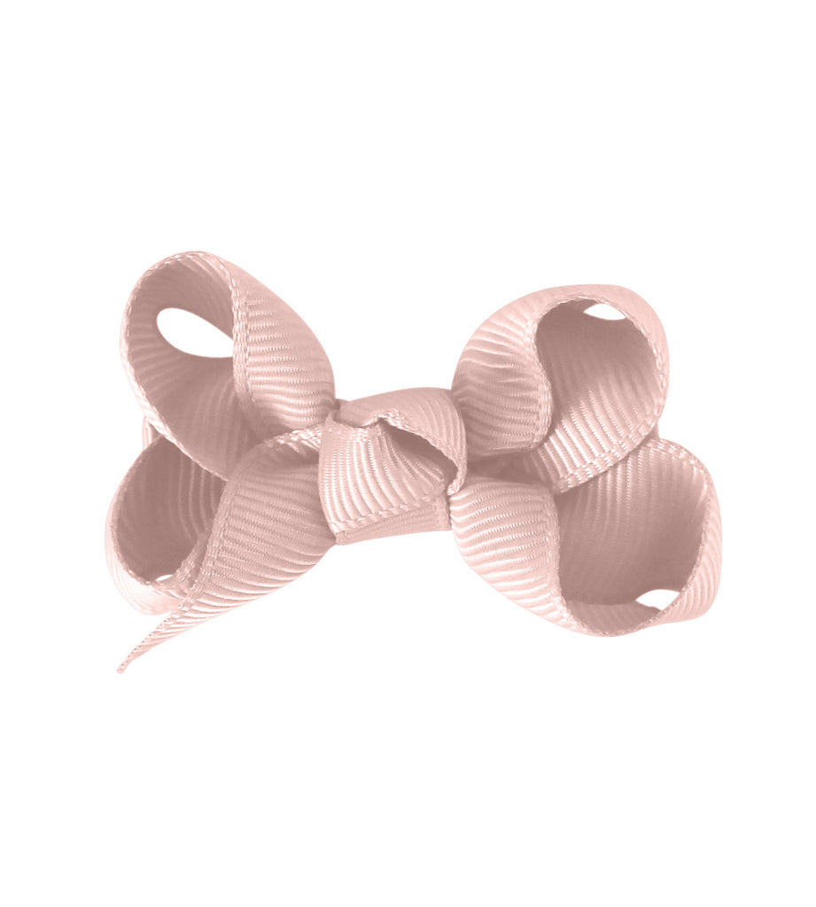 Small Boutique Bow - Powder Pink