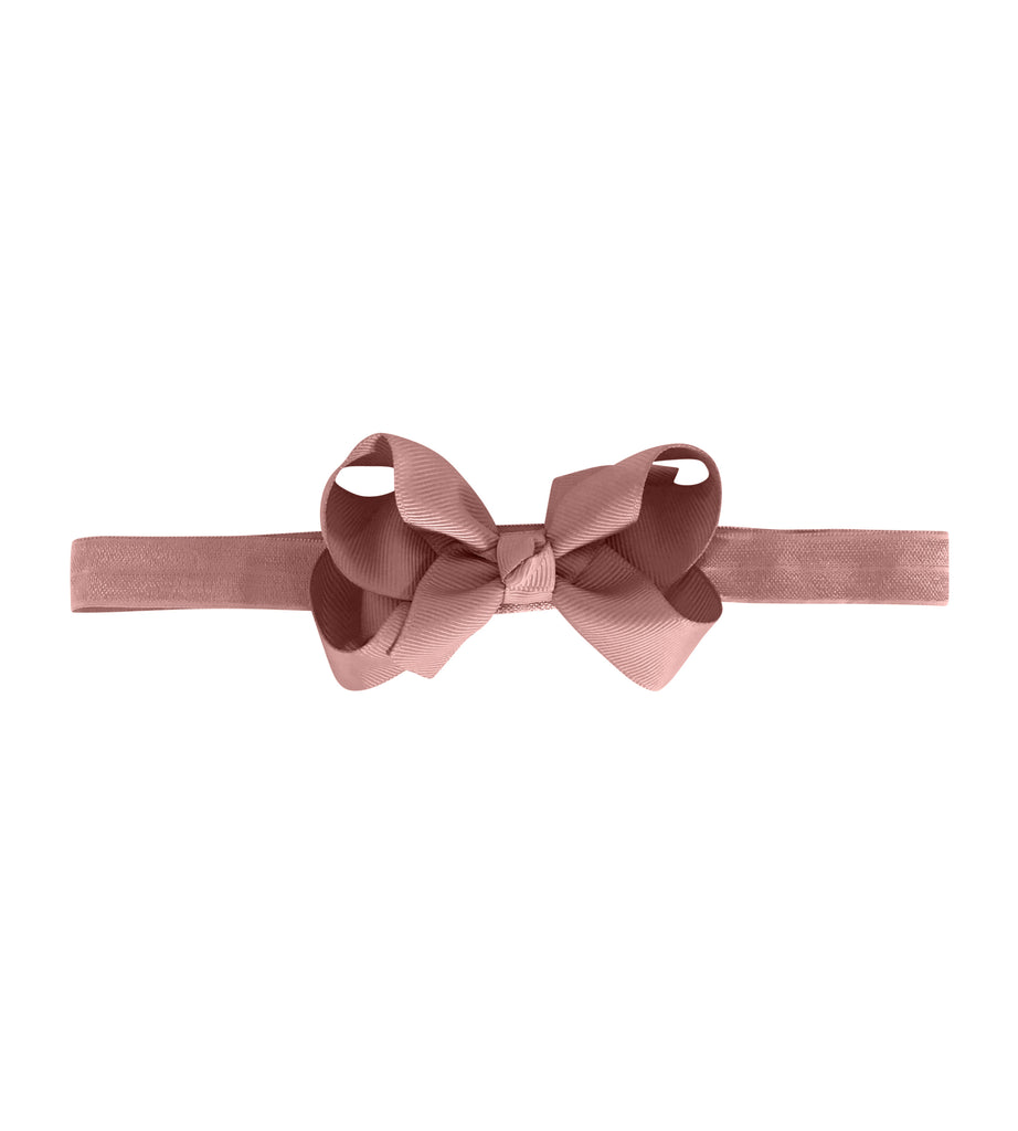 Medium Boutique Bow - Antique Mauve