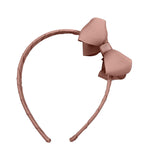 Medium Boutique Hairband - Antique Mauve