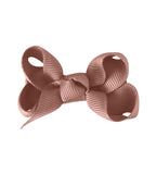 Small Boutique Bow - Antique Mauve