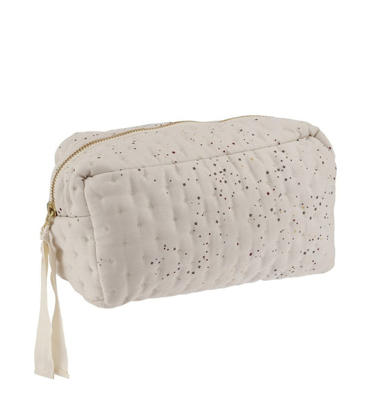 Quilted Toiletry Bag - Etoile