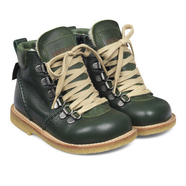 TEX-boot with zipper and laces