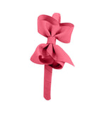 Medium Boutique Hairband - Coral Rose