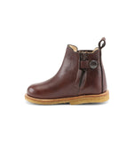 Starter chelsea boot w. elastic and zip