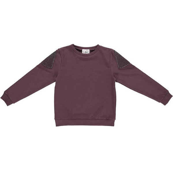 Sweat - Gro Aubergine