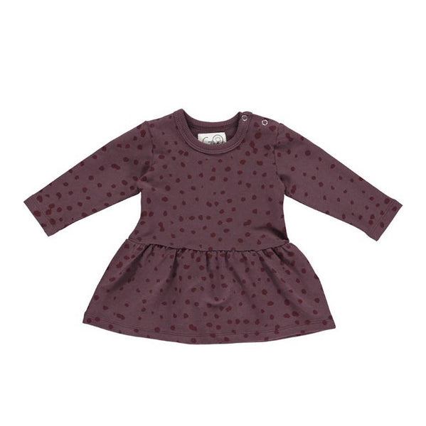 Baby Dress - Gro Aubergine