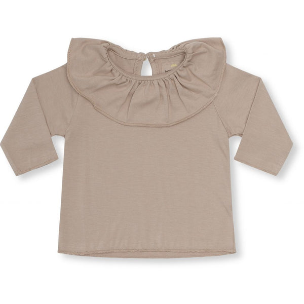 Reya collar blouse - Bark (old pink)