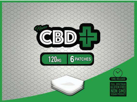 CBD 120mg Patch - 6 CBD patches