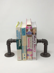 Industrial Farmhouse Style Bookends