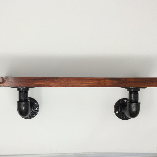 Industrial Shelf Bracket 90 degree made from 1/2