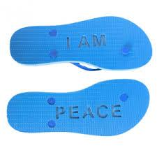 Moe Loco I Am Peace Sandal