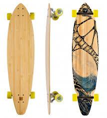 Bamboo Tidal Rider Square Tail Longboard