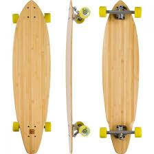 Bamboo Blank Square Tail Longboard