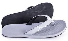 Indosole Essntls Women's Flip Flop in Granite