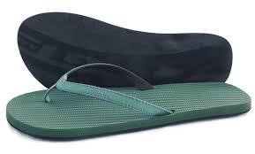 Indosole Upcycled Mens Essntls Flip Flop in Leaf