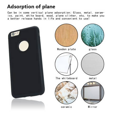Super Antigravity Iphone Case Adsortion of plane