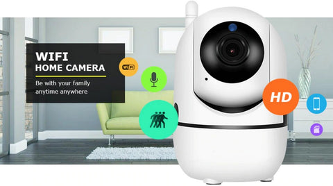 Super Smart Security Cam Home or office WiFi network