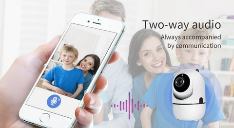 Super Smart Security Cam two-way audio
