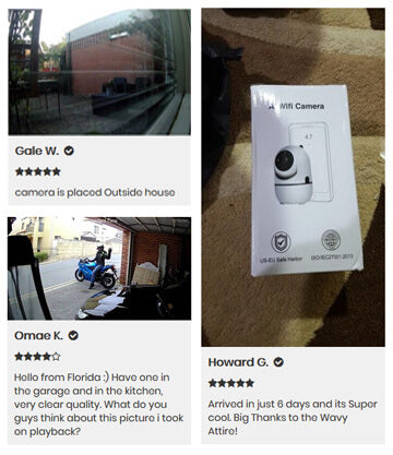 Testimony security cameras wireless