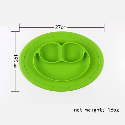 Amazing Silicone Place Mats For Children Easy to transport and store