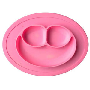 Amazing Silicone Place Mats For Children It has three compartments deep enough to hold cereal