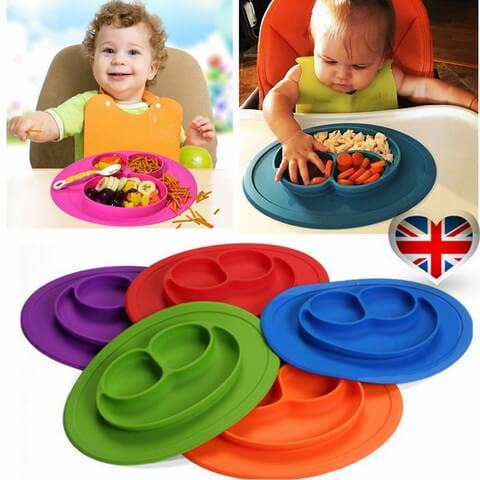 Amazing Silicone Place Mats For Children Wash with water after each use